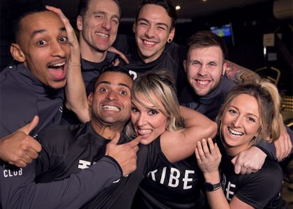 Team at Tribe HIIT club Hove
