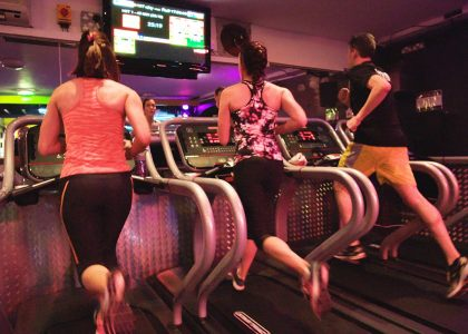 People working out at the Tribe HIIT Club Hove